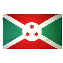 Burundi 4x6' Nylon Flag NEW  - $83.16