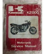 Kawasaki KZ 1300 Motorcycle Service Manual 1979 - 1981 - $24.97
