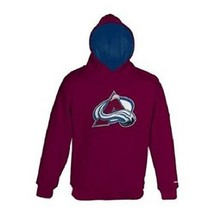 Colorado Avalanche Reebok Embroidered Boy's Hooded Sweatshirt - Hoodie - $11.95