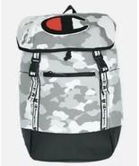 Champion Top Load Medium Grey Camo Big C Fashion Unisex Backpack CH1035-... - $64.35