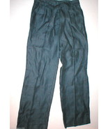 NWT $119 Womens New Jones New York Linen Pants Slacks Slate Blue 8 Offic... - $119.00