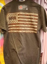New Nra Shirt Right To Bear Arms Flag Licensed Nra Shirt - $19.79+