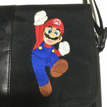 Vintage Super Mario Bros Nintendo DS Carrying Case Soft Travel Bag Black - $25.72