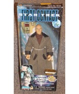 1996 Star Trek First Contact Captain Jean-Luc Picard 9 inch Figure New I... - $24.99