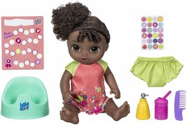 Baby Alive Potty Dance Baby - African American - Black Curly Hair - $120.23
