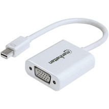 "Manhattan 151382 Mini DisplayPort to VGA Adapter Cable, 5.9"" - $42.73"