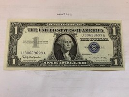 USA United States $1.00 unc. banknote 1957 - $29.95
