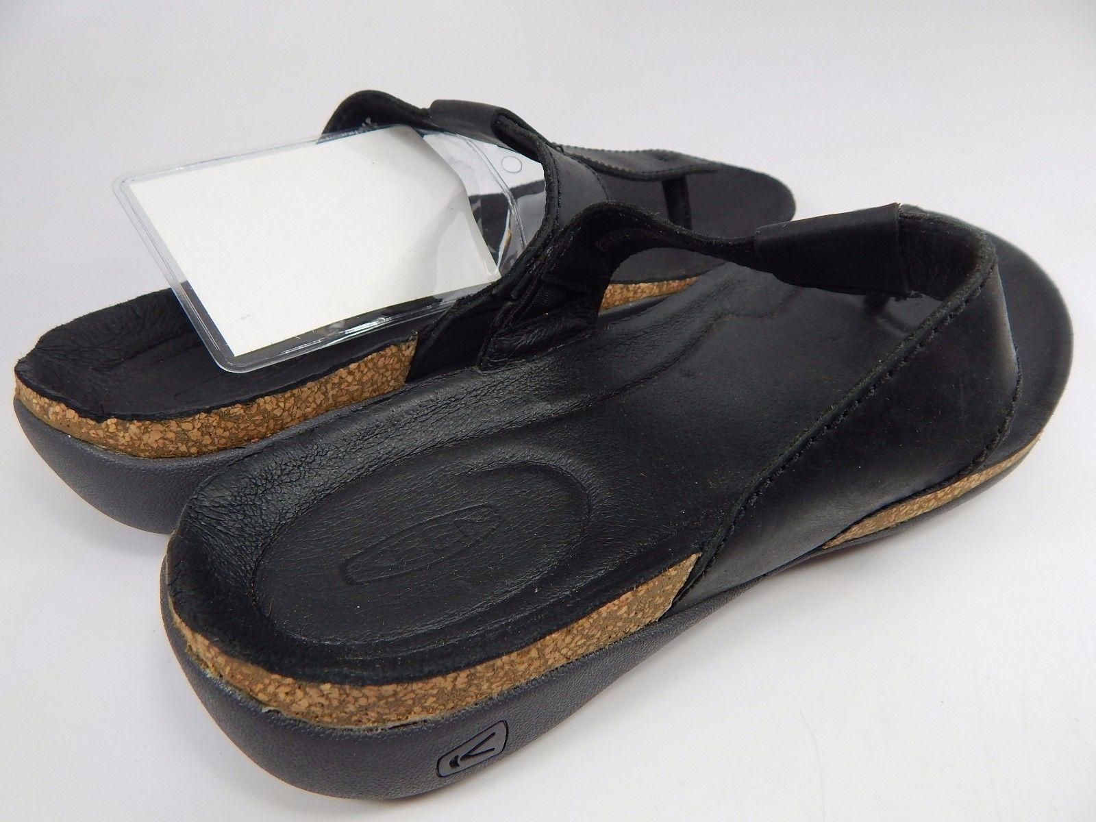 Keen Dauntless Women's Flip Flops Size US 7 M (B) EU 37.5 Black