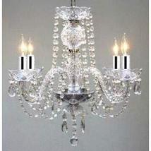Chandelier Made with Swarovski Crystal! Chandelier Chandeliers Dressed W/Swarovs - $129.53
