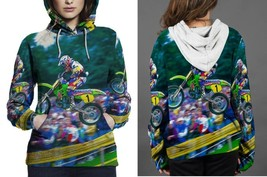 Jumping Is Art Motocross Hoodie Women - £35.56 GBP+