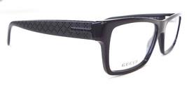 GUCCI Men's Frame Glasses GG1022 Rectangular Black 140 MADE IN ITALY - New! - $199.95