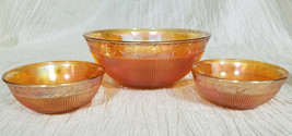 Vintage Imperial Glass Prism and Daisy Fruit Serving Set, 7 pieces (circa 1930s) - $30.38