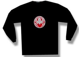 Cold-Spider Medallion-Longsleeve-Black T-shirt - $17.99