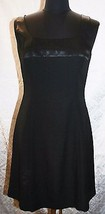 Papell Boutique 8 Classic Black Dress Form fitting Wiggle Sleeveless  Formal Tea - $19.63