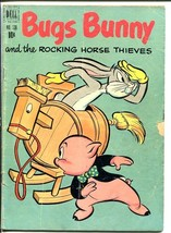 Bugs BUNNY-DELL Four Color Comics #338-Porky Pig-GOLDEN AGE-G - $24.83
