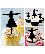 Ca230 cupcake toppers sound of music Package : 10 pcs - $10.00