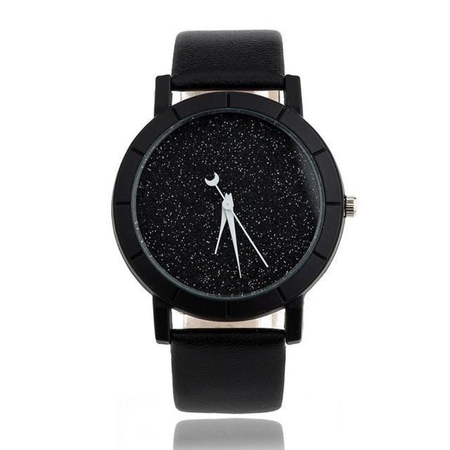 2017 genvivia New Brand Watch Women Men's Fashion Star Minimalist Fashion Watche