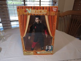 N Sync Collectible Marionette Figure Chris Kirkpatrick living toyz doll ... - $28.50