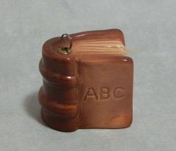 Goebel Signed Dagmar Kohn Miniature Painted ABC Book Ornament - $17.82
