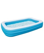 Inflatable Swimming Pool 120 in x 72 in x 22 in Rectangular Above Ground... - $48.99