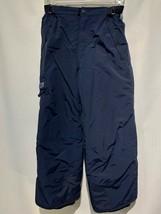 Boys THE CHILDRENS PLACE Ski Snow Pants Side Belt PLC-Tech NAVY BLUE Siz... - $13.49