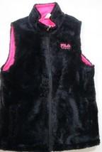 Fila faux fur reversible vest SIZE SMALL - $14.80