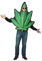 Pot Leaf Weed Marijuana Costume Adult Halloween Party Unique Funny GC6945 - €46,80 EUR