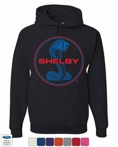 Shelby Cobra Ford Mustang Hoodie American Muscle Ford Racing Sweatshirt - $24.06+