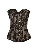Agent Provocateur Femmes Sensuelle Lace Corset Noire Taille XS - $485.35