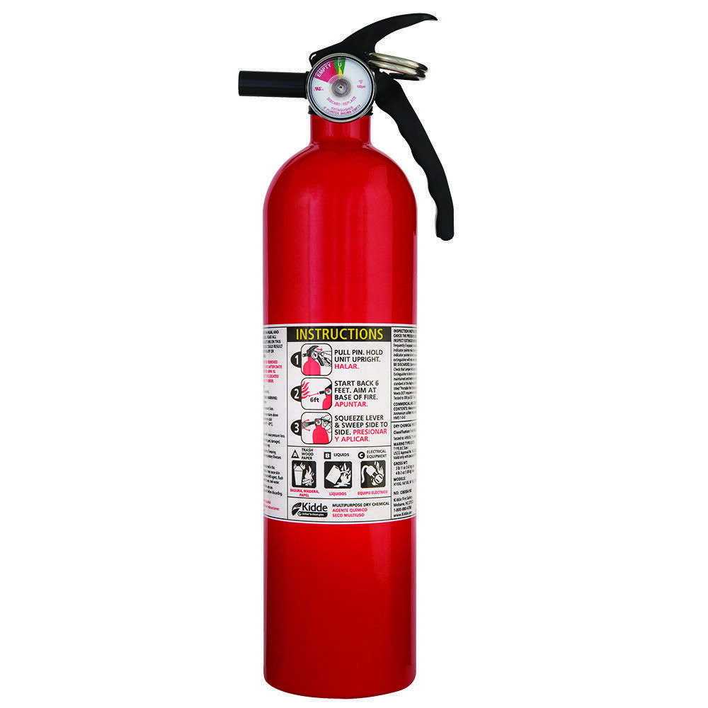 Primary image for Kidde 1A10BC Basic Use Fire Extinguisher, 2.5 lbs
