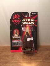 Star Wars 1998 Episode 1 Mace Windu with Lighsaber and Jedi Cloak Commtech NIP - $9.89