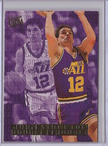1995-96 Fleer Ultra John Stockton Double Trouble #10 Basketball Card - $3.75