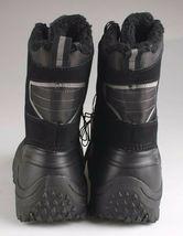 Goodfellow & Co Case Men's Black Leather Textile Faux Fur Chucka Winter Boots image 4