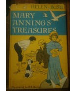 Rare HTF 1st edition Mary Anning's Treasures Helen Bush Hc/Dj 1965 First... - $183.15