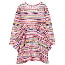 NWT Crazy 8 Girls Long Sleeve Geo Handkerchief Dress 2T 3T 4T - $9.99