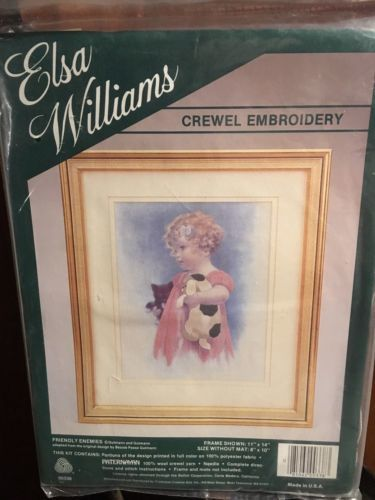 Elsa Williams Crewel Embroidery Kit Friendly And Similar Items