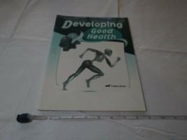 Developing Good Health test quiz worksheet KEY book Beka home school gra... - $29.51