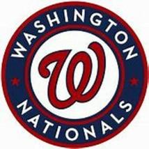 WASHINGTON NATIONALS  iron on embroidered embroidery patch baseball  log... - $10.95
