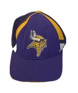 Reebok Minnesota Vikings Purple/Yellow (OSFA) NFL EQUIPMENT Mesh Trucker Hat - $14.85