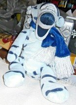 "Disney Store Winter White Tigger w/Scarf 8"" Bean Bag Plush - $12.19"
