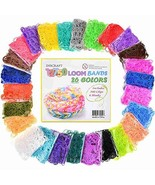 Loom Rubber Bands, 12750pc Rubber Band Refill Kit in 26 Colors with 500 ... - $21.65