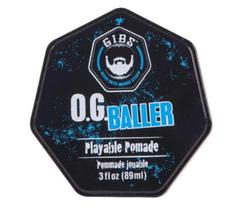 GIBS Grooming O.G. Baller Playable Pomade,  3oz