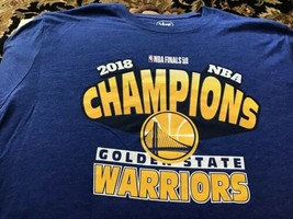 NBA Official 2018 Champion T-shirt '47 Brand Size L NEW Free Shipping Wa... - $14.84