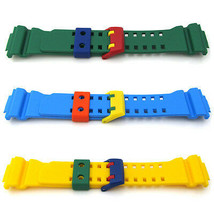 Original CASIO G SHOCK GA400 CRAZY COLOURS Watch Strap MULTI COLORS Rubb... - $39.40