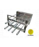 Brazilian BBQ Charcoal Grill - 07 Skewers - Rotisserie System - Oca-Brazil - $921.50