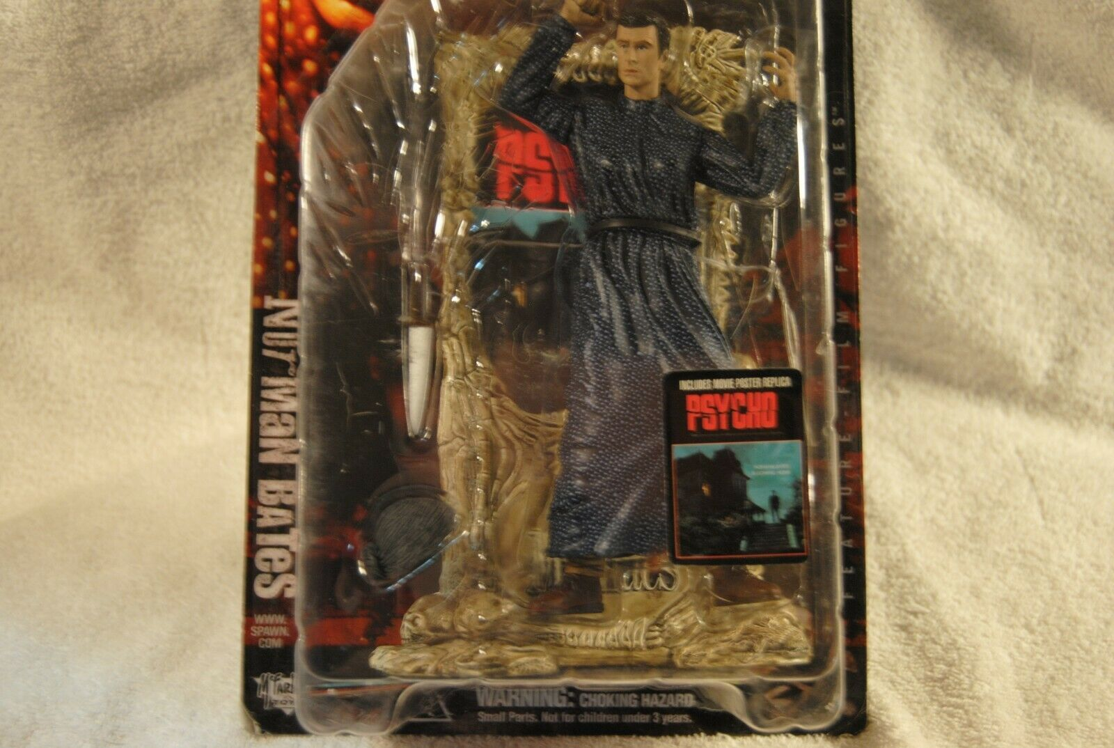NORMAN BATES Psycho McFarlane Action Figure 1999 Movie Maniacs 2 SEALED