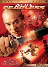 Jet Li's Fearless (DVD, 2006, 2-Discs, Unrated/Theatrical Ed) - $11.95