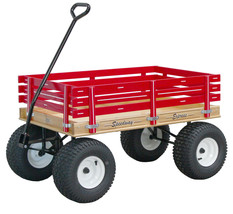 AMISH BEACH & GARDEN WAGON w 6½ Wide Off Road Tires * 4 Color Choices * ... - $355.38
