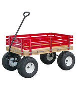 AMISH BEACH & GARDEN WAGON w 6½ Wide Off Road Tires * 4 Color Choices * ... - $404.56