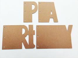 "Nicole Crafts Build a Memory ""PARTY"" Chipboard Album #MEM5410 image 2"